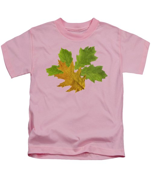 Oak Leaves Patern Kids T-Shirt