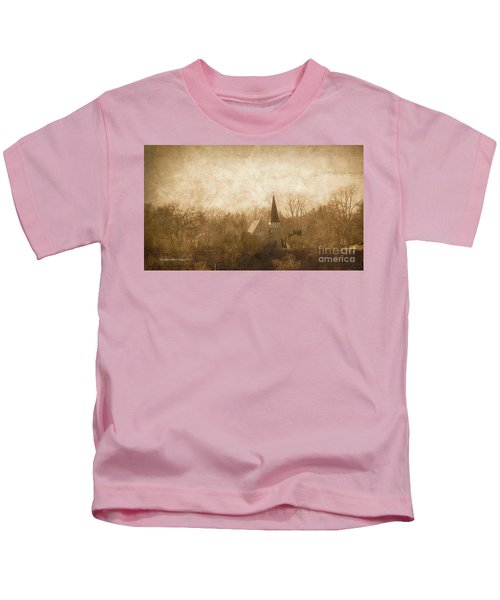 Old Church On A Hill  Kids T-Shirt