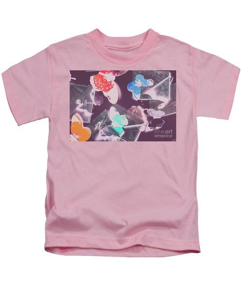 Ornate Air Mail Kids T-Shirt