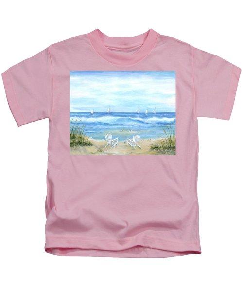 Peaceful Seascape Kids T-Shirt