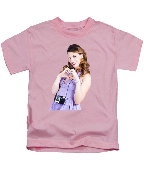 Photography Love Kids T-Shirt