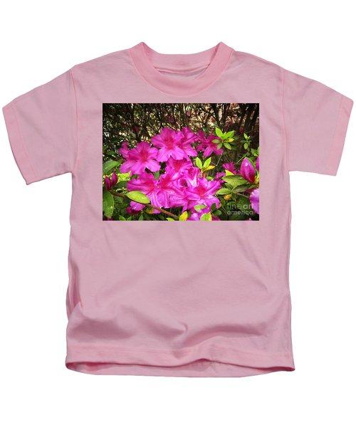 Pink Outside Kids T-Shirt