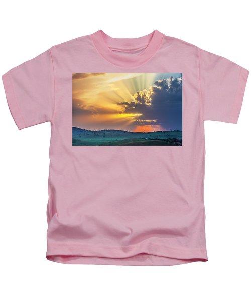 Powerful Sunbeams Kids T-Shirt