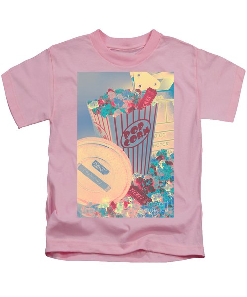 Retro Flicks Kids T-Shirt