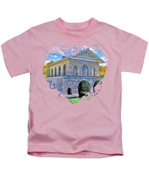 Rock Island Boathouse Kids T-Shirt