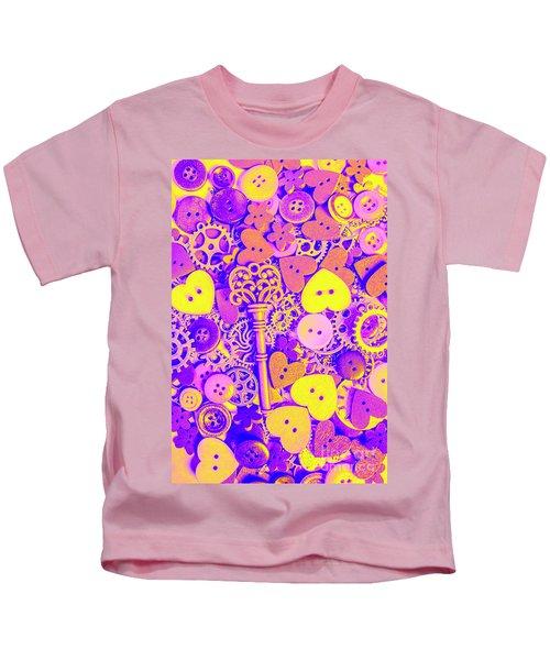 Romance In Mechanics Kids T-Shirt