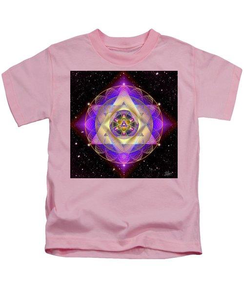 Sacred Geometry 741 Kids T-Shirt
