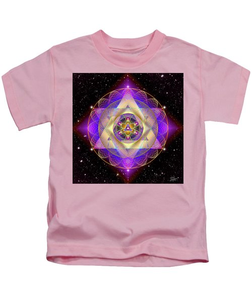 Sacred Geometry 741 Kids T-Shirt