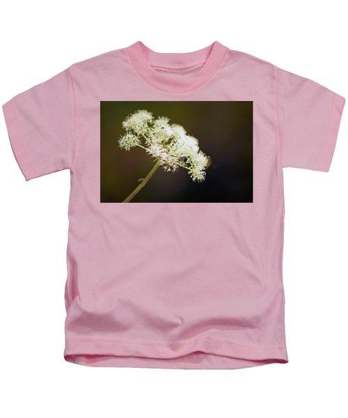 Scotland. Loch Rannoch. White Flowerhead. Kids T-Shirt