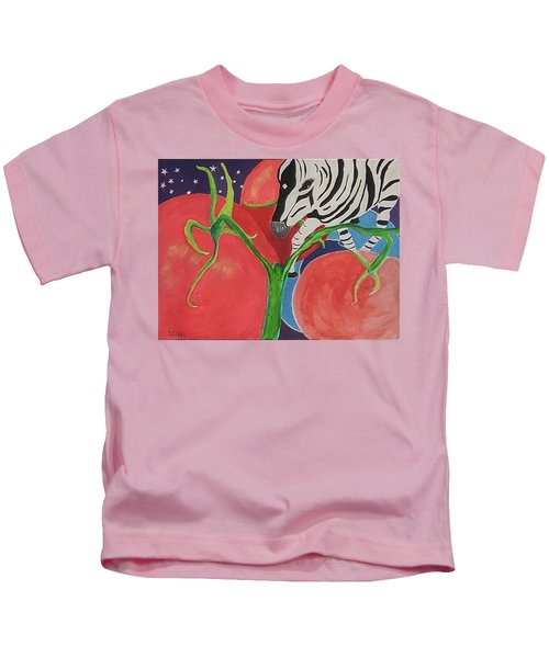 Space Zebra Kids T-Shirt