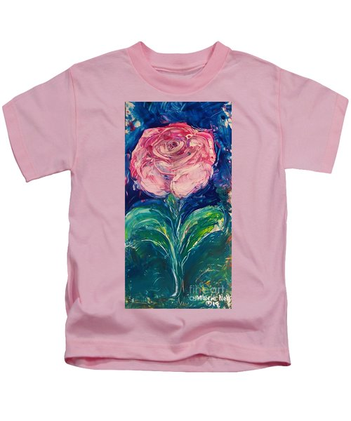 Standing Rose Kids T-Shirt