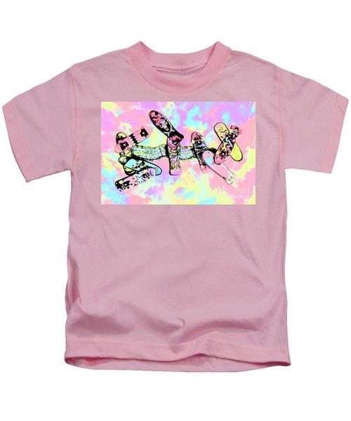 Street Sk8 Pop Art Kids T-Shirt