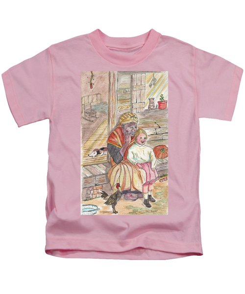 Taking Care Of The Owners Little Daughter Kids T-Shirt