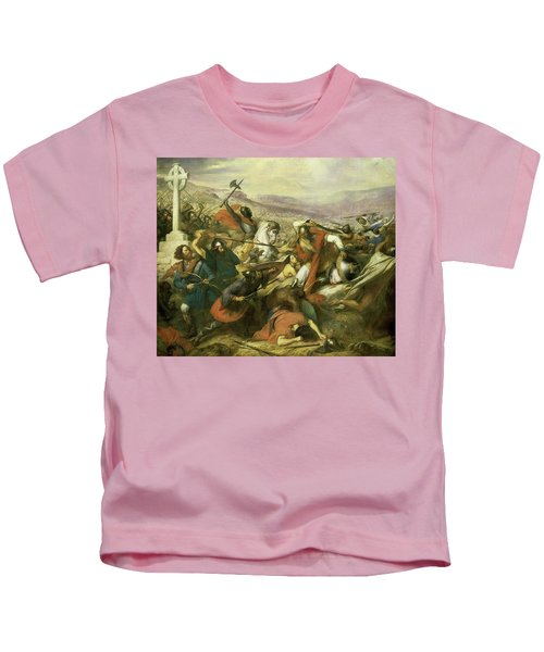 The Battle Of Poitiers, 732 Kids T-Shirt