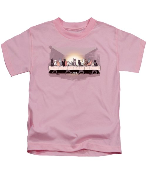 The Cat Supper Kids T-Shirt