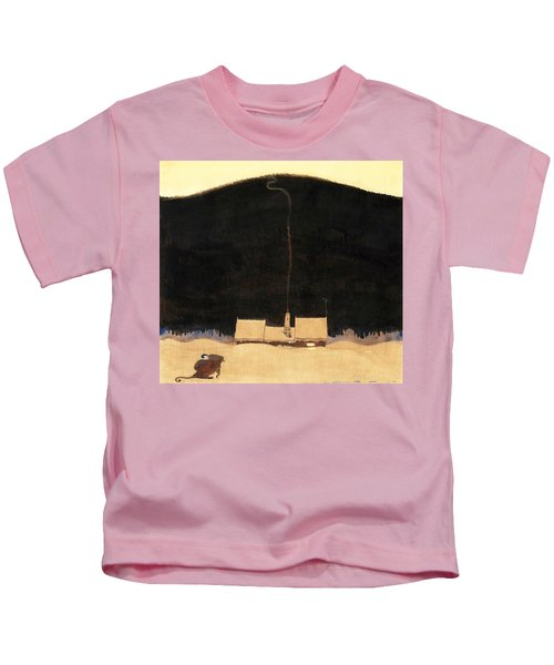 The Cottage At The Foot Of The Mountain - Digital Remastered Edition Kids T-Shirt