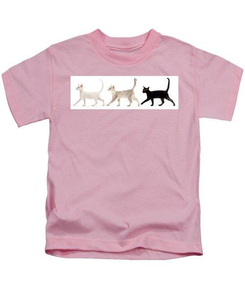The Kits Parade - Three Kids T-Shirt