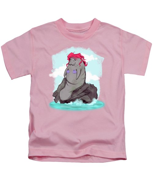 The Little Manatee  Kids T-Shirt