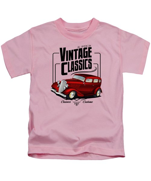 Vintage Classic Delivery Kids T-Shirt