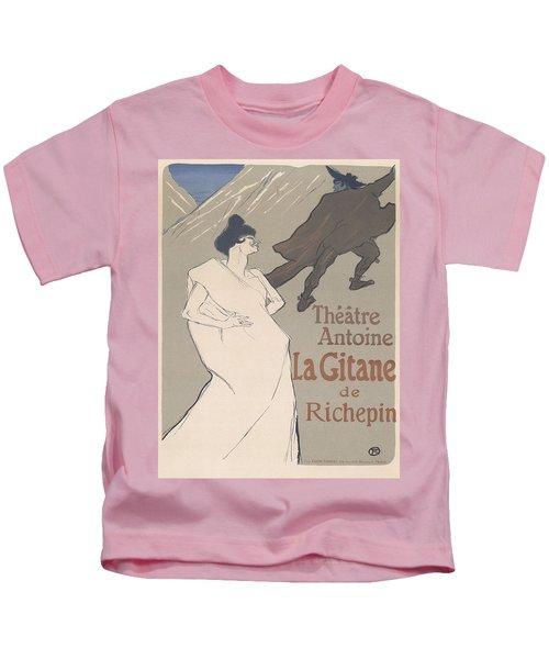 Vintage Poster - Theatre Antoine Kids T-Shirt