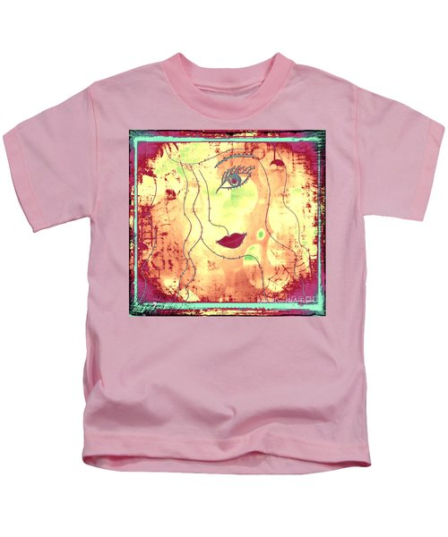 Visage De Lumiere Kids T-Shirt