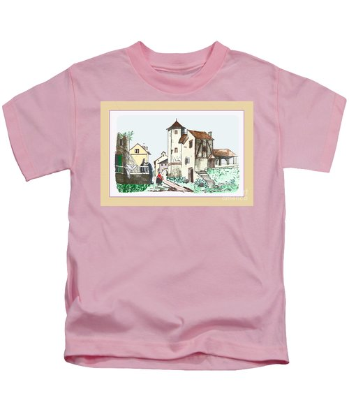Walk Through Town Kids T-Shirt