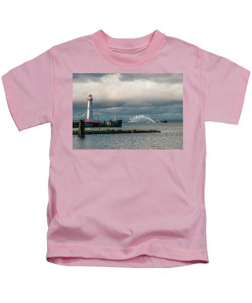 Wawatam Lighthouse Kids T-Shirt