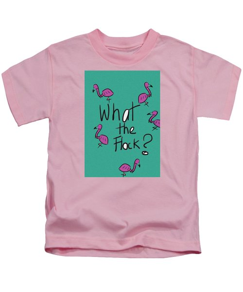 What The Flock?  Kids T-Shirt