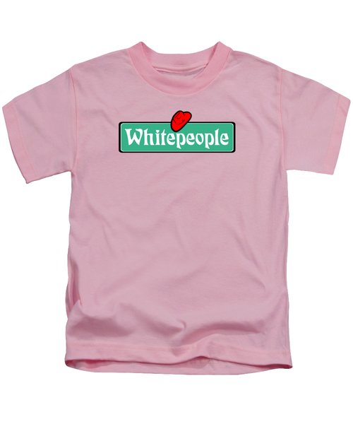 White People Kids T-Shirt