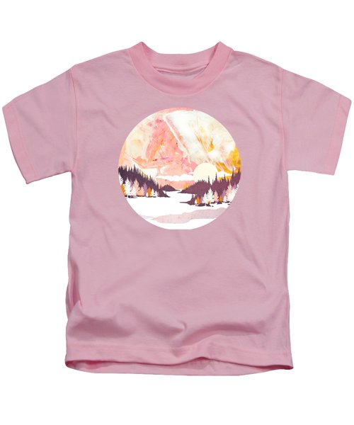 Winter Abstract Kids T-Shirt
