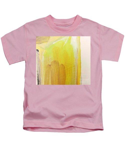 Yellow #3 Kids T-Shirt