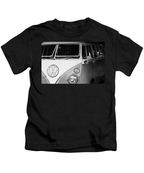 1964 Volkswagen Vw Samba 21 Window Bus Kids T-Shirt