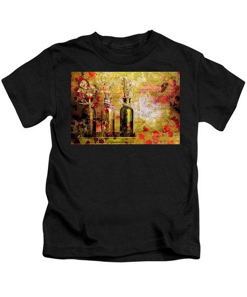 1-2-3 Bottles - S12a203 Kids T-Shirt