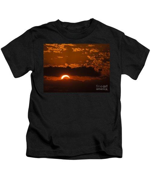 2012 Solar Eclipse Kids T-Shirt