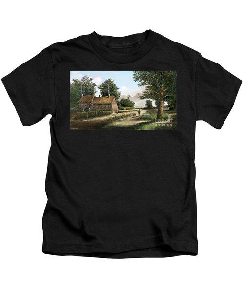 Anne Hathaway's Cottage Kids T-Shirt