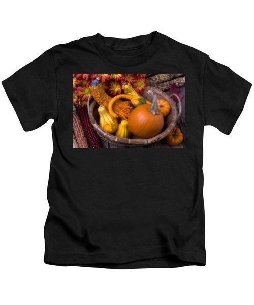 Autumn Basket Kids T-Shirt