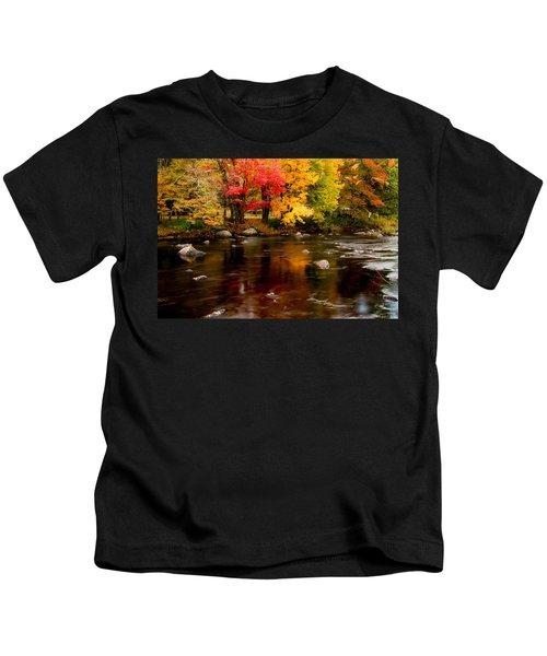 Autumn Colors Reflected Kids T-Shirt