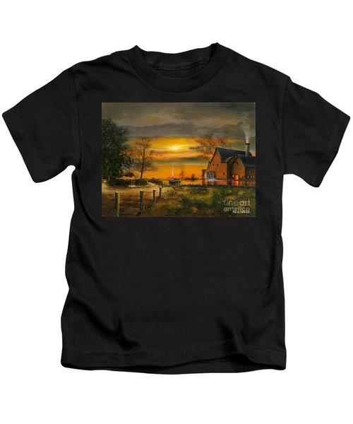 Autumn Gold Kids T-Shirt