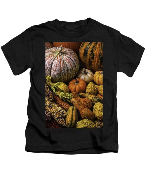 Beautiful Autumn Harvest Kids T-Shirt