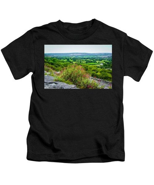 Burren National Park's Lovely Vistas Kids T-Shirt