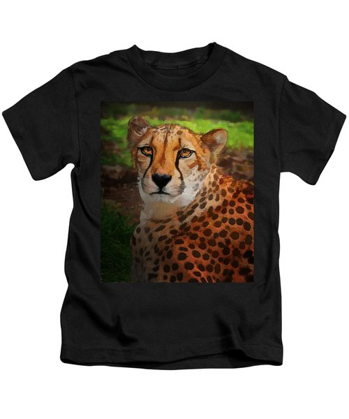 Cheetah Mama Kids T-Shirt