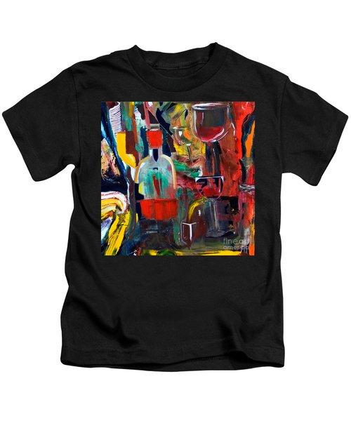 Cut IIi Wine Woman And Music Kids T-Shirt