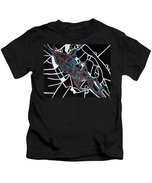 Dinka Totem - South Sudan Kids T-Shirt