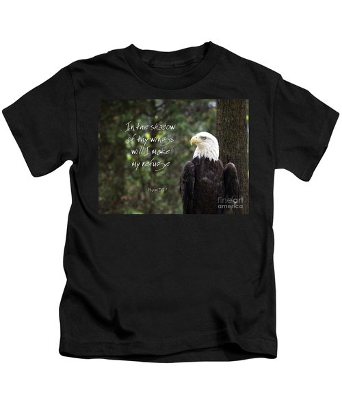 Eagle Scripture Kids T-Shirt