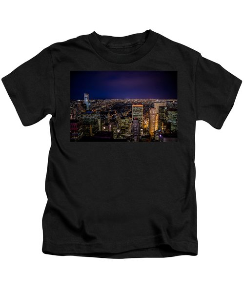 Field Of Lights And Magic Kids T-Shirt
