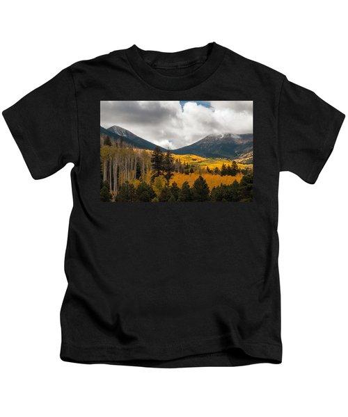 Flagstaff Fall Color Kids T-Shirt