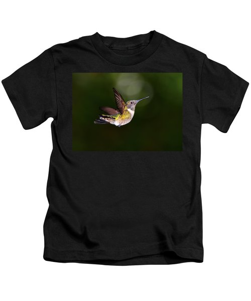 Flight Of A Hummingbird Kids T-Shirt