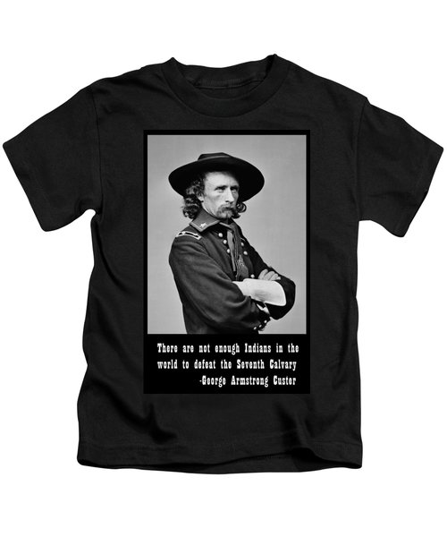 George Armstrong Custer Kids T-Shirt
