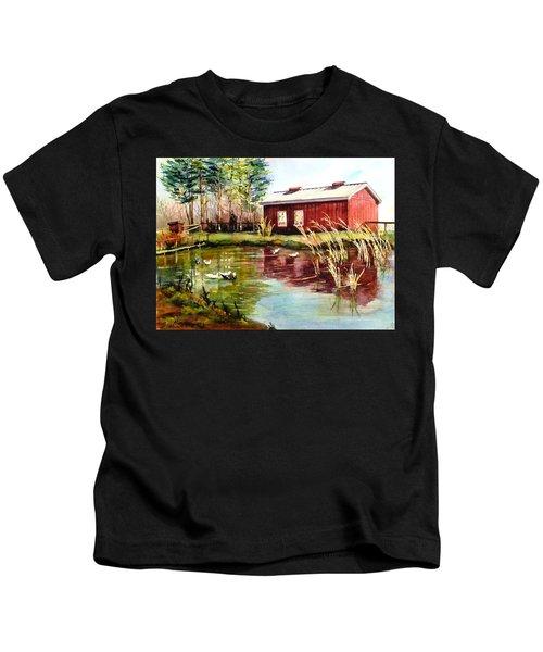 Green Acre Farm Kids T-Shirt