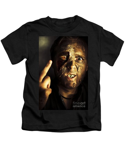 Greeting From The Grave Kids T-Shirt